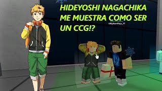 HIDEYOSHI NAGACHIKA me ENTRENA a ser CCG!? / OWL VS IXA! | Roblox: Ro-Ghoul Español