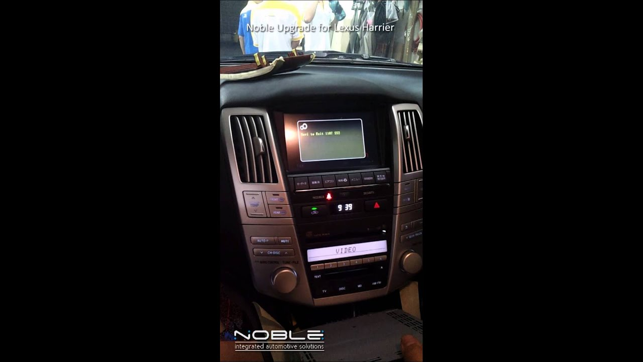 Noble Toyota Lexus Harrier Dvd Loader And Gps Navigation