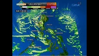 24 Oras: Weather update as of 6:32 p.m. (August 18, 2018)