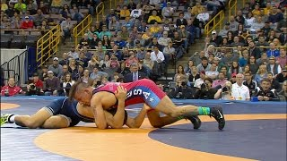 Olympic Wrestling Trials | Aaron Pico vs Frank Molinaro, Match 3 | Full Match