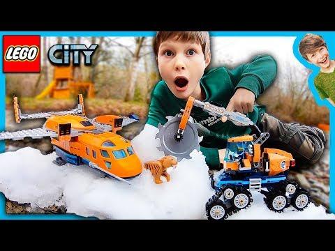 LEGO City Arctic Supply Plane Tiger Attack!