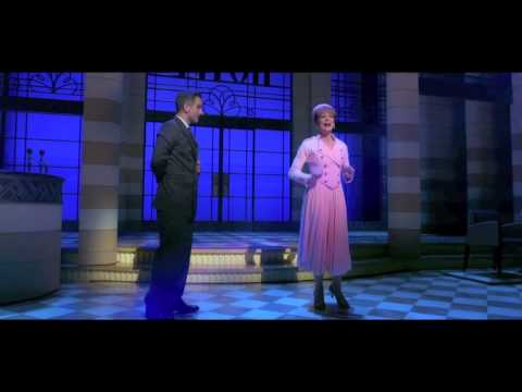 Samantha Bond in Dirty Rotten Scoundrels, Savoy Theatre, 2014  ATG