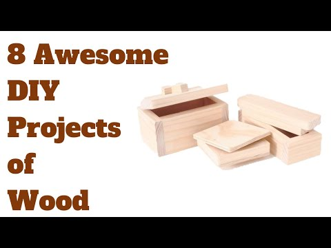 6 Amazing DIY Wood Projects - For Beginners