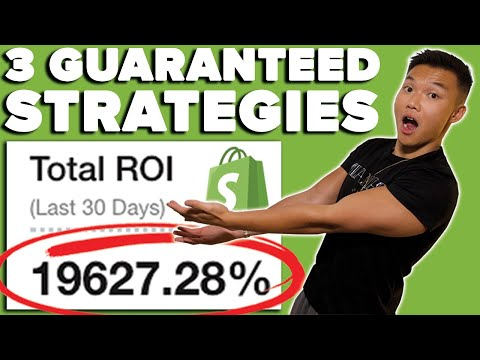 3 Guaranteed Strategies for Higher Profit (19,000% ROI)   Shopify Dropshipping thumbnail