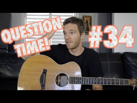 Question Time! Guitar Center, Band Life, Soloing and my man Elliott Smith