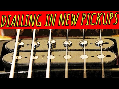 Dialling In New Pickups: Height & Pole Screw Adjustments