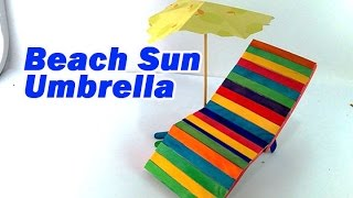 Beach Sun Umbrella - DIY