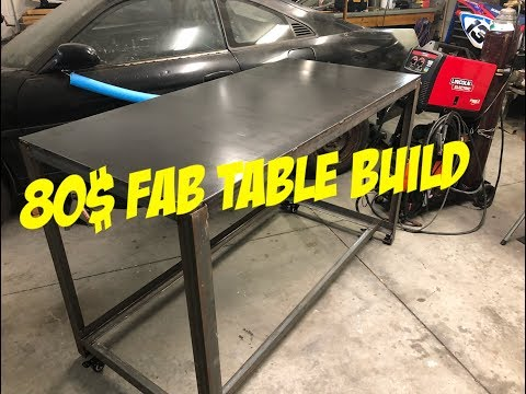 DIY Welding Table
