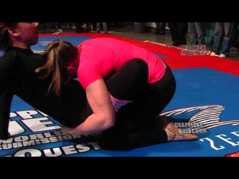 Female SUBMISSION Grappling Jiu Jitsu - Amanda Leve vs Jessy Miele at Grapplers Quest Worlds 2012: SUBSCRIBE FREE here: http://LiveGrappling.com - For upcoming GRAPPLING events near you, visit: http://GrapplersQuest.com - Follow us on Twitter at: http://Twitter.com/GrapplersQuest - Join us on Facebook at: http://GQFans.com  - Please become aware about AUTISM, it affects 1 in 88 children in America, 1 in 55 boys nationally.  Autism is a brain disorder that can affect communication, social interaction, and or creative play. You can Help children and families directly at: http://AutismDonation.org or switch your electric and gas utility bills and raise up to $22 per year for Autism at: http://EnergyForAutism.org - OVERTIME SUBMISSION! No-Gi Women's Advanced division featuring Amanda Leve (Paper Street BJJ) vs Jessy Miele (IMBCT). GRAPPLERS QUEST, The World's Largest and Most Prestigous Submission Grappling Tournament hosts Grapplers Quest World Championships in Asbury Park NJ on Saturday December 8th, 2012. Grapplers Quest wants the sport of Submission Grappling to grow worldwide and with sharing this footage for free, we hope it will bring more people into the sport for many years to come. We will bring you the BEST matches from all our events on our website at: http://www.GrapplersQuest.com Please subscribe to our FREE channel at: http://WatchGrappling.com or PPV channel at: http://LiveGrappling.com