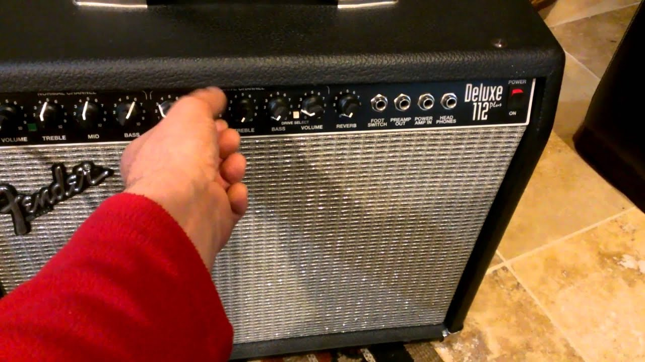 Fender deluxe 112 plus youtube fender deluxe 112 plus freerunsca Choice Image