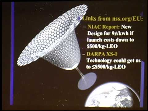 Energy From Space (Space Solar Power) Challenges- P Werbos