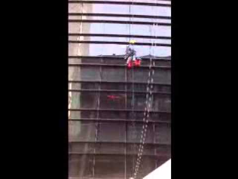 Qatar high rope rescue in Doha..wmv