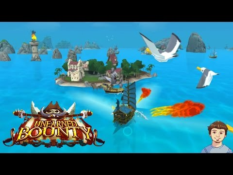 Unearned Bounty Gameplay w/ Commentary - PvP Pirate Game!