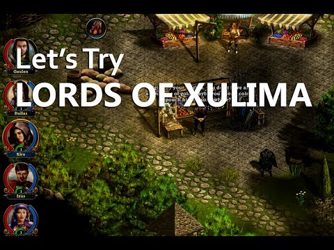 Let's Try Lords of Xulima! (Addictive Indie RPG Action)