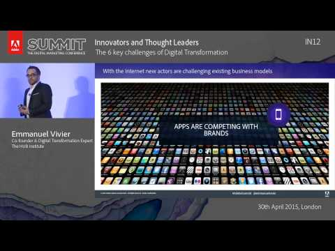 The 6 key challenges of Digital Transformation | HUB Institute, Emmanuel Vivier