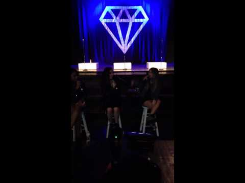 "Fifth Harmony answers ""What's ur name on each other's phone?"" - ""Worst Kept Secret"" Tour, Ventura CA"