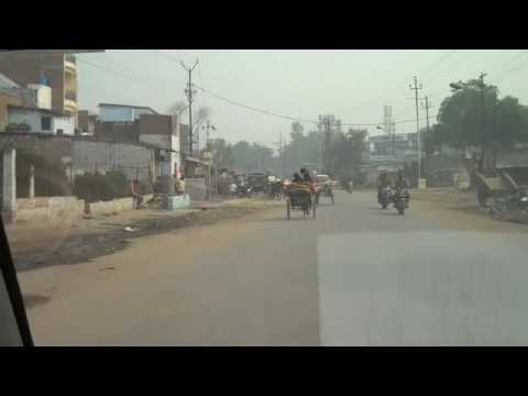 A drive in Jajmau, Kanpur leather tanning area