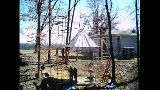 Corn Crib - Build The Crib 2013-04-011