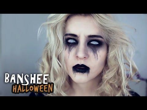 ♦ Makijaż Banshee na Halloween ♦ Agnieszka Grzelak Beauty