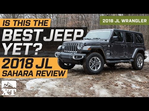 2018 Jeep Wrangler JL Sahara Review & Off Road Test Drive |