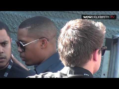 Nas Arrives To The 2012 ESPY Awards