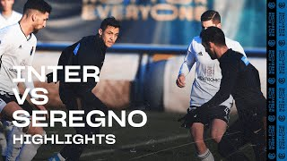 INTER 4-1 SEREGNO | TRAINING MATCH HIGHLIGHTS | Politano, Esposito and Dimarco on the scoresheet!