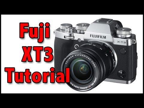 Fuji XT3 Full Tutorial Training Video