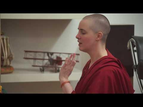 Shantideva Study Group practices the Requesting Mandala