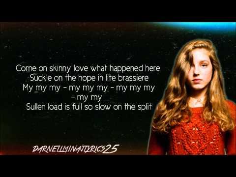 Birdy - Skinny Love Lyrics Video