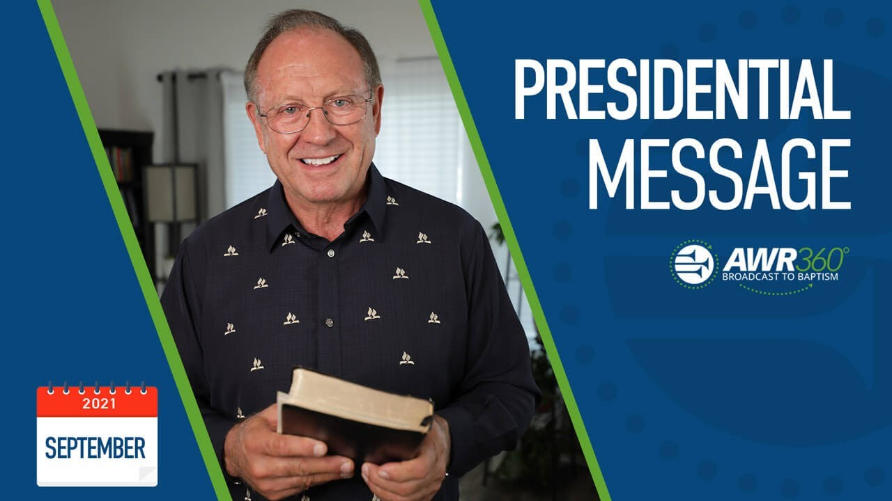 """video thumbnail for September 2021 President's Video: """"God's Spirit at Work Around the World"""""""