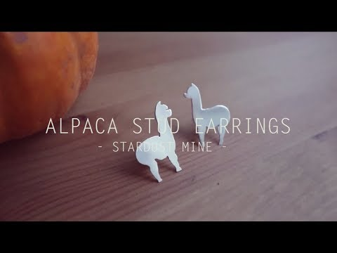 How to make Alpaca sterling silver stud earrings. Learn Silversmithing