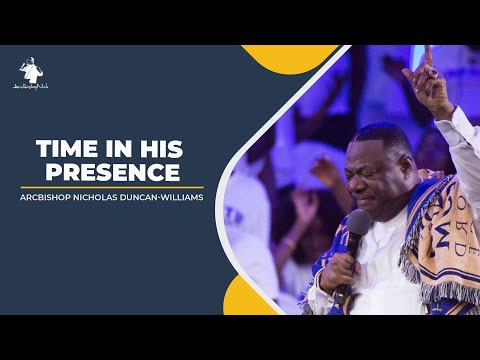 Archbishop N. Duncan-Williams On Joy Fm |  Time In His Presence | 26th April 2020