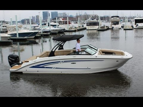 2017 Sea Ray SDX 270 OB Boat For Sale at MarineMax Baltimore