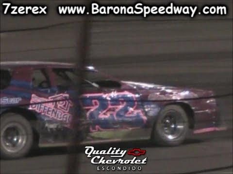 Street Stock Main Barona Speedway 7-16-2016
