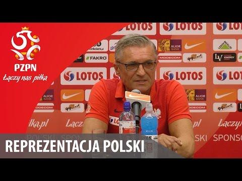 Konferencja reprezentacji Polski (Warszawa, 02.10.2016)