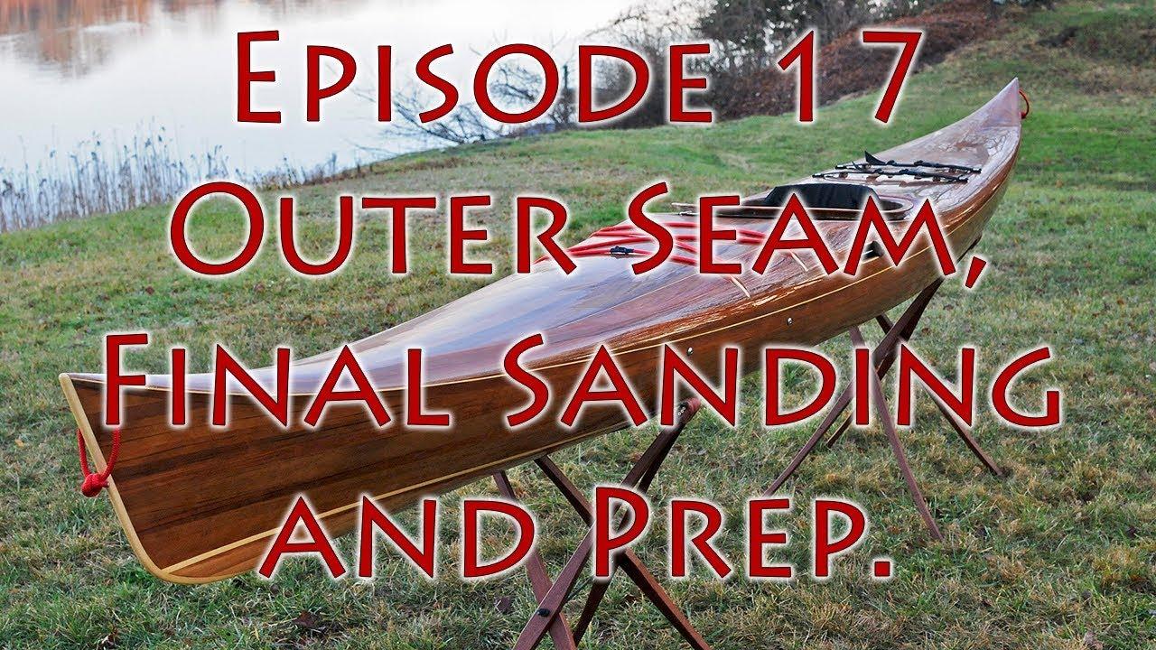 Making Petrel Play - a Strip-built Wood Kayak: 19 Steps