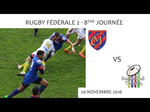 Rugby F2 - 8e journée - UMS vs RCT