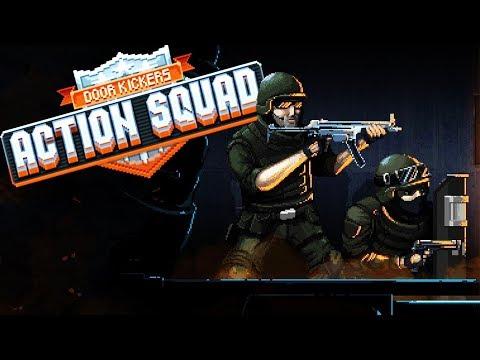 The BEST SWAT TEAM Simulator EVER! - Door Kickers Action Squad Gameplay