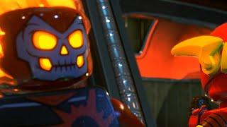 LEGO DC Super-Villains Walkthrough Part 4 - STARS in your Eyes