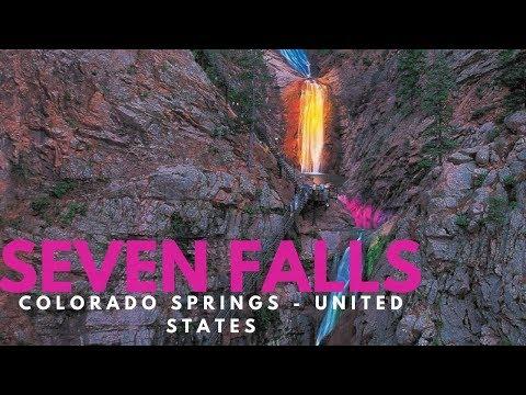 The Broadmoor Seven Falls , Colorado Springs - United States