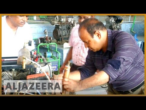 🇮🇳 India invents eco-friendly, hydrogen-powered automobile engine | Al Jazeera English