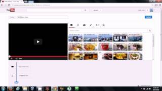 Youtube Editor how to Remove Audio (3rd party material)  from your Video creating a new Video