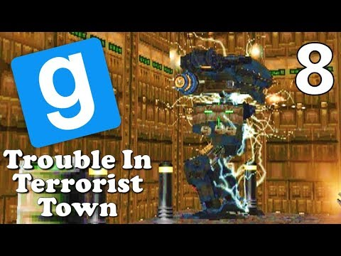 [8] It's Time For A Boss Fight!!! (Gmod TTT Gameplay)