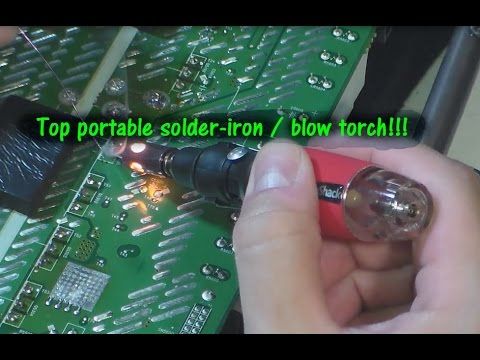 How do you use a soldering iron?