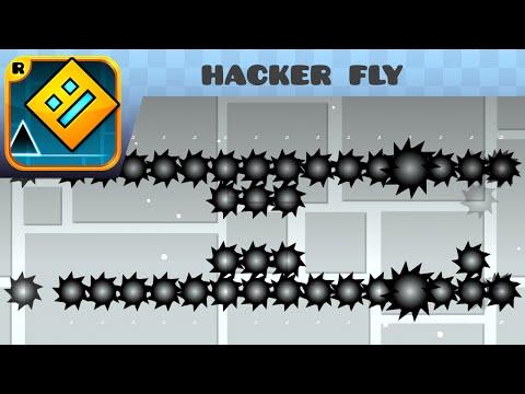 Geometry Dash - hacker fly (Medium Demon) - by GW-hackernow