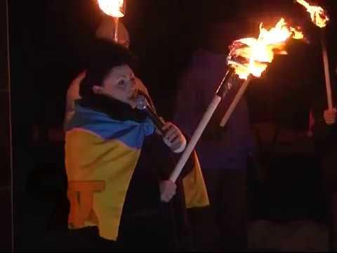 Активісти Словянська  ігнорують  заборону проведення заходів із застосуванням вогню