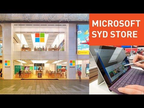 Inside Microsoft's new Sydney Flagship Store