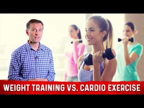 A Tip on Weight Training vs. High Intensity Cardio Exercise