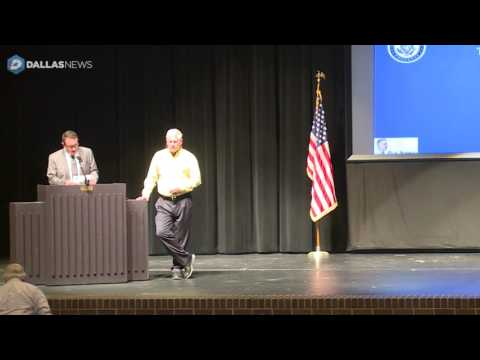 U.S. Rep. Pete Sessions holds Town Hall in Richardson