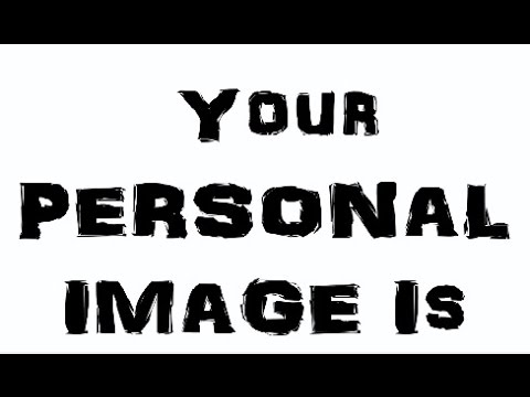 Your Personal Image - Peer Helpers 2015